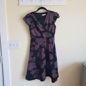 Mata Traders ☆ Rose Cross Stitch Dress w/ Pockets